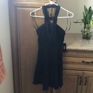 BRAND NEW lulus black dress